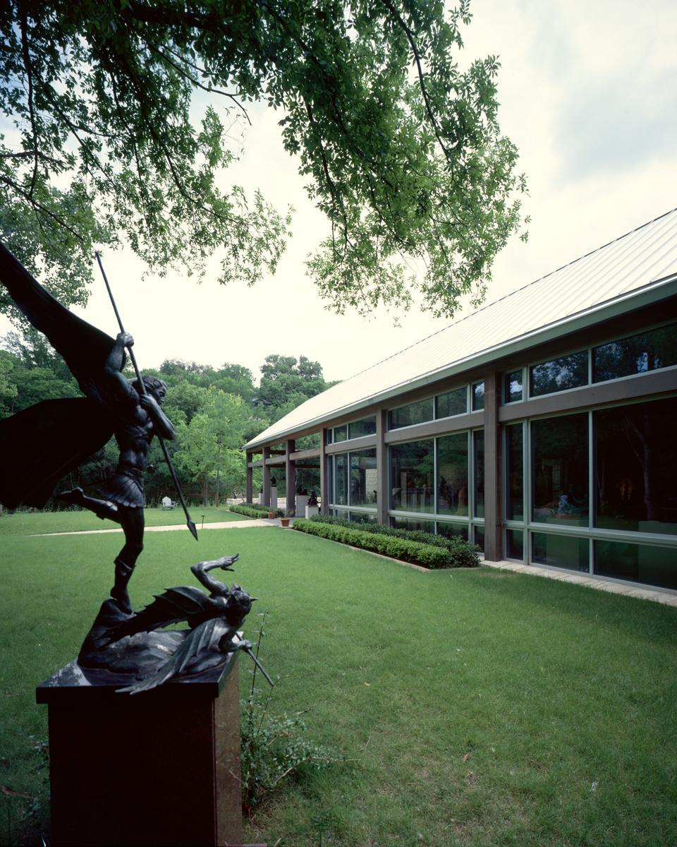 Building Umlauf Sculpture Garden Museum Larry Speck