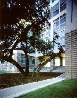 Robert E. Johnson Legislative Office Building in Austin, Texas by architect Larry Speck