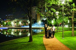 Discovery Green in Houston, Texas by architect Larry Speck