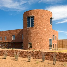 U.S. Federal Courthouse in Alpine, Texas by architect Larry Speck