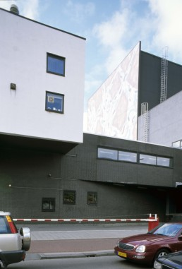 Kunsthal in Rotterdam, Netherlands by architect Rem Koolhaas