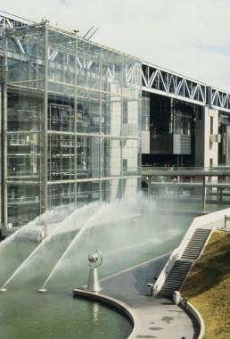 Cite des Sciences (La Villette) in Paris, France by architect Adrien Fainsilber