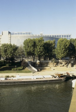 Arab World Institute in Paris, France by architect Jean Nouvel