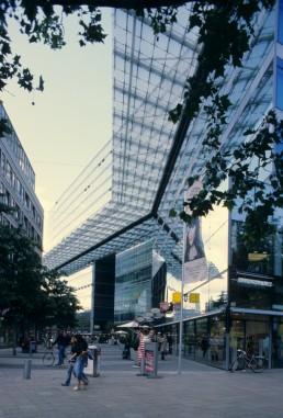 Sony Center in Berlin, Germany by architect Helmut Jahn
