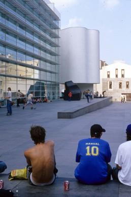 Barcelona Museum of Contemporary Art in Barcelona, Spain by architect Richard Meier