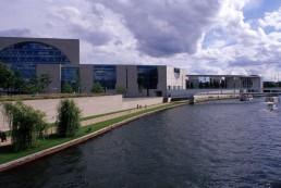 Bundeskanzleramt in Berlin, Germany by architect Axel Schultes