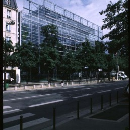 Cartier Foundation Headquarters & Museum in Paris, France by architect Jean Nouvel