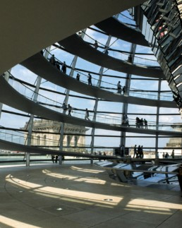 Norman Foster Reichstag German Parliament Berlin Germany Larry Speck