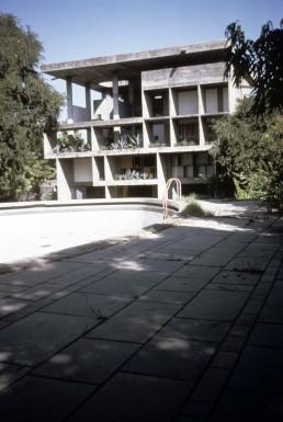Villa Shodan in Ahmedabad, India by architect Le Corbusier