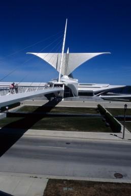 Milwaukee Art Museum, Quadracci Pavilion in Milwaukee, Wisconsin by architect Santiago Calatrava