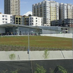 Olympic Sculpture Park in Seattle, Washington by architect Weiss Manfredi Architects