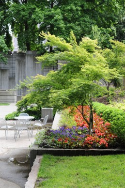 Freeway Park in Seattle, Washington
