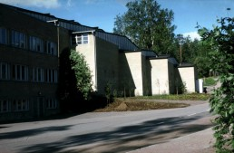 Sports Hall in Otaniemi, Finland by architect Alvar Aalto