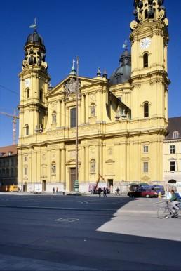 Theatine Church in Munich, Germany by architect Agostino Barelli