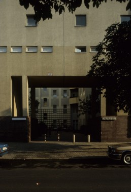 Kaiser Friendrich Strasse housing in Berlin, Germany by architect O.M. Ungers