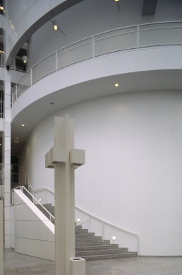 Hague City Hall in The Hague, Netherlands by architect Richard Meier