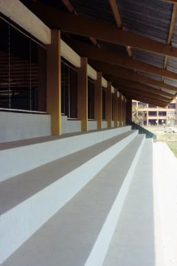 University of Santa Cruz Gymnasium in Santa Cruz, California by architect Victor Limpias