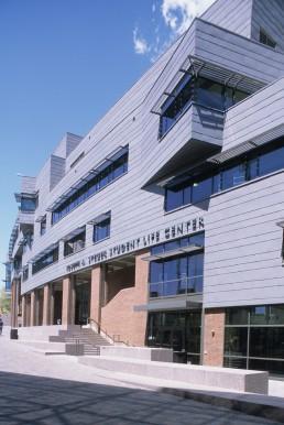 Joseph Steger Student Life Center in Cincinnati, Ohio by architect Moore Ruble Yudell