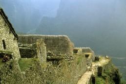 Machu Picchu in Machu Picchu, Peru