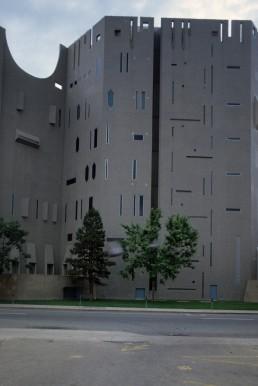 Denver Art Museum in Denver, Colorado by architect Gio Ponti