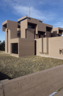 National Center for Atmospheric Research in Boulder, Colorado by architect I.M. Pei