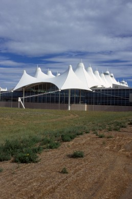 Denver International Airport in Denver, Colorado by architect Fentress Architects