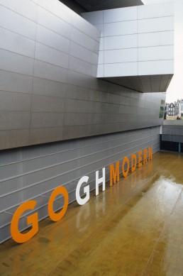New Wing of the Van Gogh Museum in Amsterdam, Netherlands by architect Kisho Kurokawa