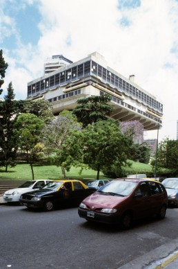 National Library of the Argentine Republic in Buenos Aires, Argentina by architect Clorindo Testa