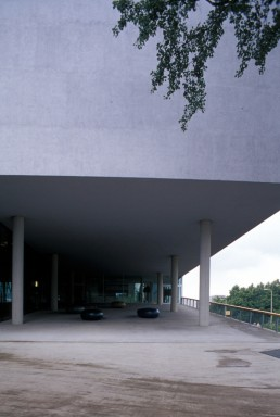 Educatorium at the University of Uithof in Utrecht, Netherlands by architects Rem Koolhaas, Office for Metropolitan Architecture, OMAX