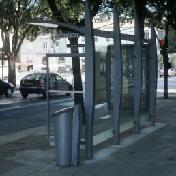 Bus Stop in Nimes in Nimes, France