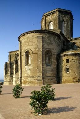 La Seu Vella Cathedral in Lerida, Spain by architect Pere de Coma