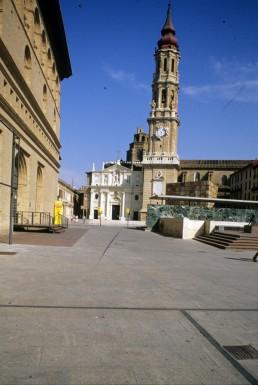 La Seo Cathedral in Zaragoza, Spain