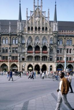 Munich City Hall in Munich, Germany by architect Georg Von Hauberrisser