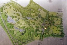 Branitzer Park in Cottbus, Germany by architect Hermann Fuerst