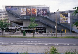 UFA-Palast in Dresden, Germany by architect Coop Himmelb(l)au