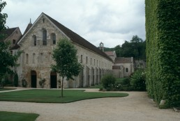 Abbey of Fontenay in Montbard, France