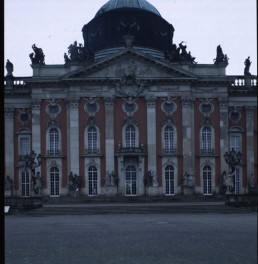 Neues Palais in Potsdam, Germany by architect Johann Gottfried Buring