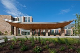 Chickasaw Nation Medical Center in Ada, Oklahoma by architect Larry Speck