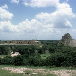 Governor's Palace in Uxmal, Mexico
