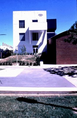 The University of California, ICS/ERF in Irvine, California by architect Frank Gehry