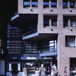 Ransila Office Building in Lugano, Switzerland by architect Mario Botta