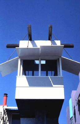 Norton House in Venice Beach, California by architect Frank Gehry