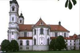 Benedictine Abbey Church in Ottobeuren, Germany by architect Johann Michael Fischer