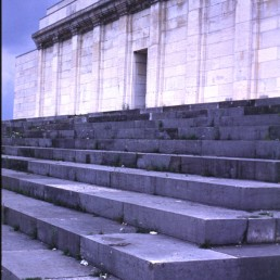 Zeppelinfeld in Nuremberg, Germany by architect Albert Speer
