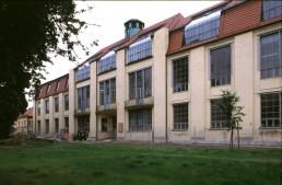 Bauhaus Main Building in Weimar, Germany