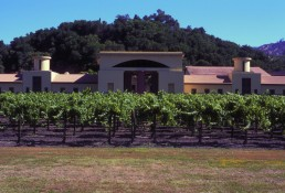 Clos Pegase Winery in Napa Valley, California by architect Michael Graves