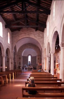San Salvatore Church in Castellina in Chianti, Italy