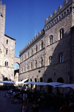 Piazza dei Priori in Volterra, Italy