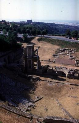 Roman Ruins in Volterra, Italy