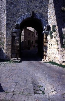 Porta all'Arco (Arch Gate) in Volterra, Italy